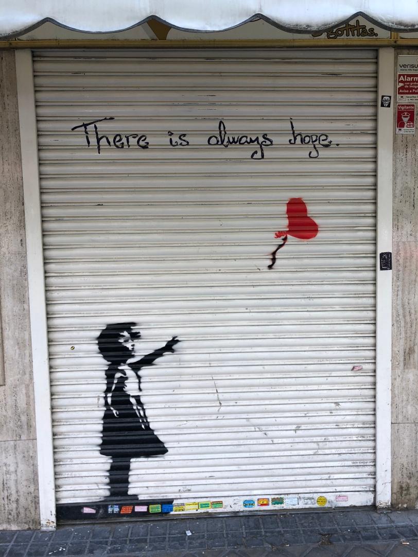Hope, Banksy, ©️Rashesh Jethi
